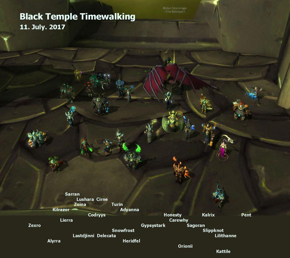 Black Temple Timewalking