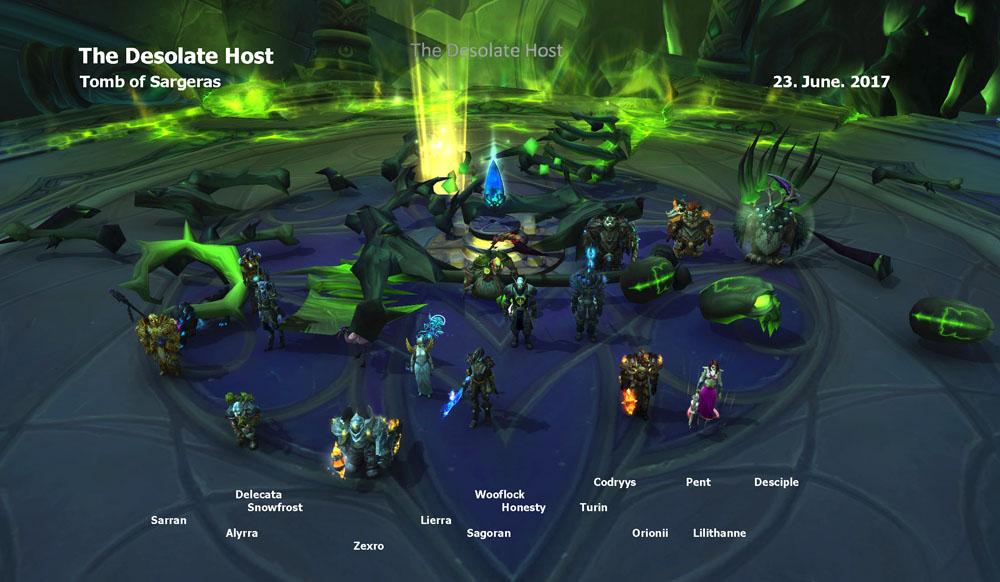 Desolate Host Kill picture