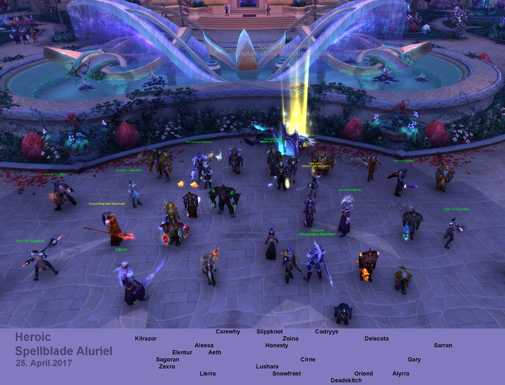 Heroic Spellblade kill picture