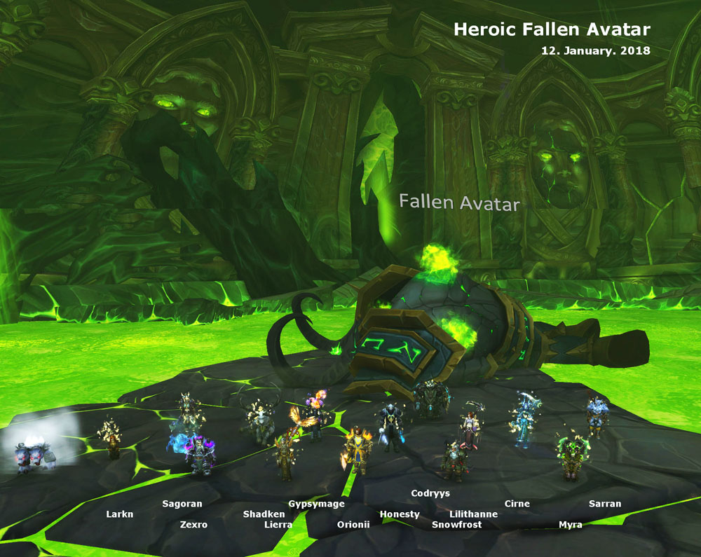 Heroic Fallen Avatar kill shot