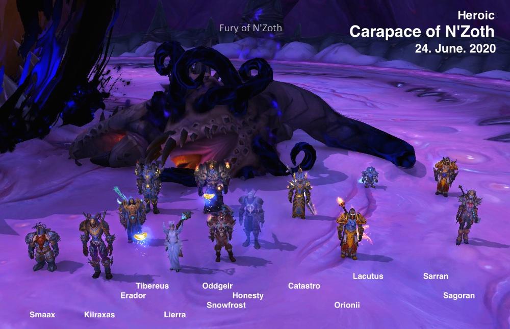 Heroic Carapace kill shot