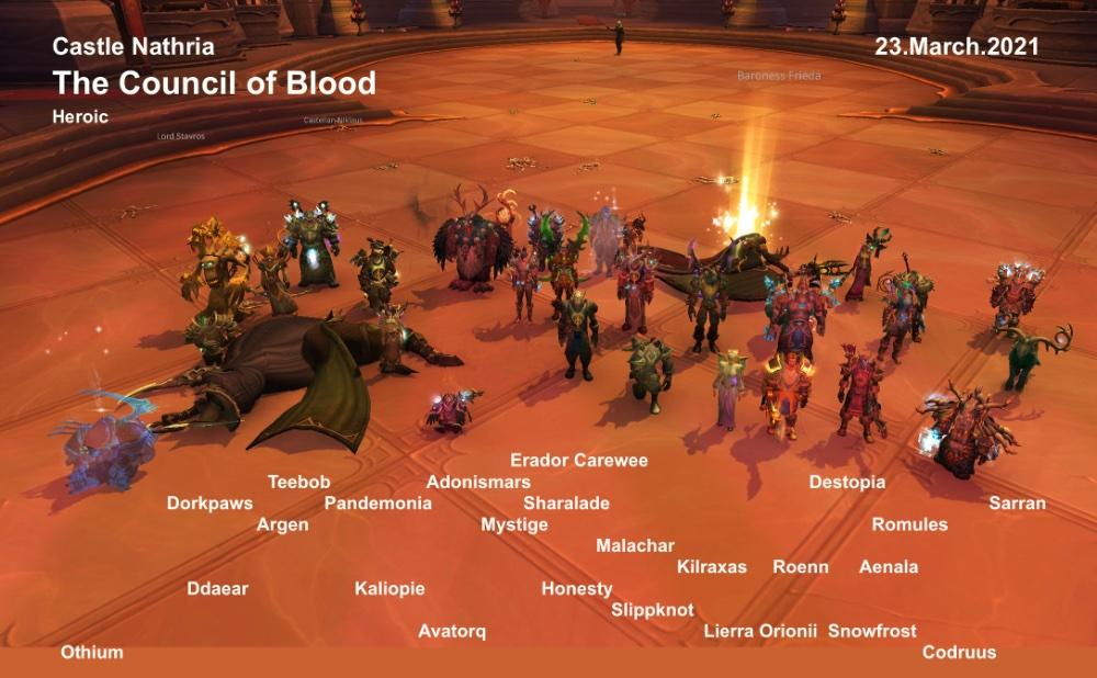 Heroic Council of Blood kill shot