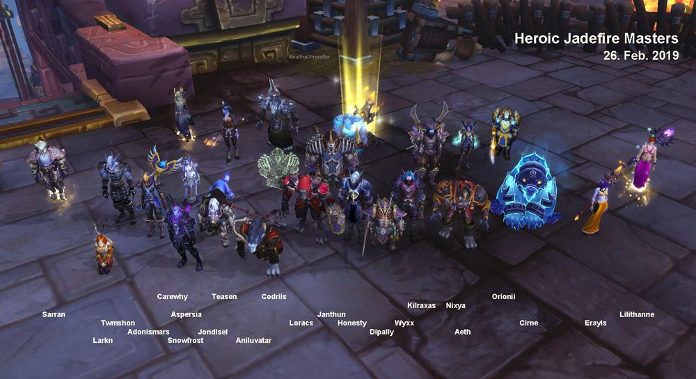 Heroic Jadefire Masters kill shot