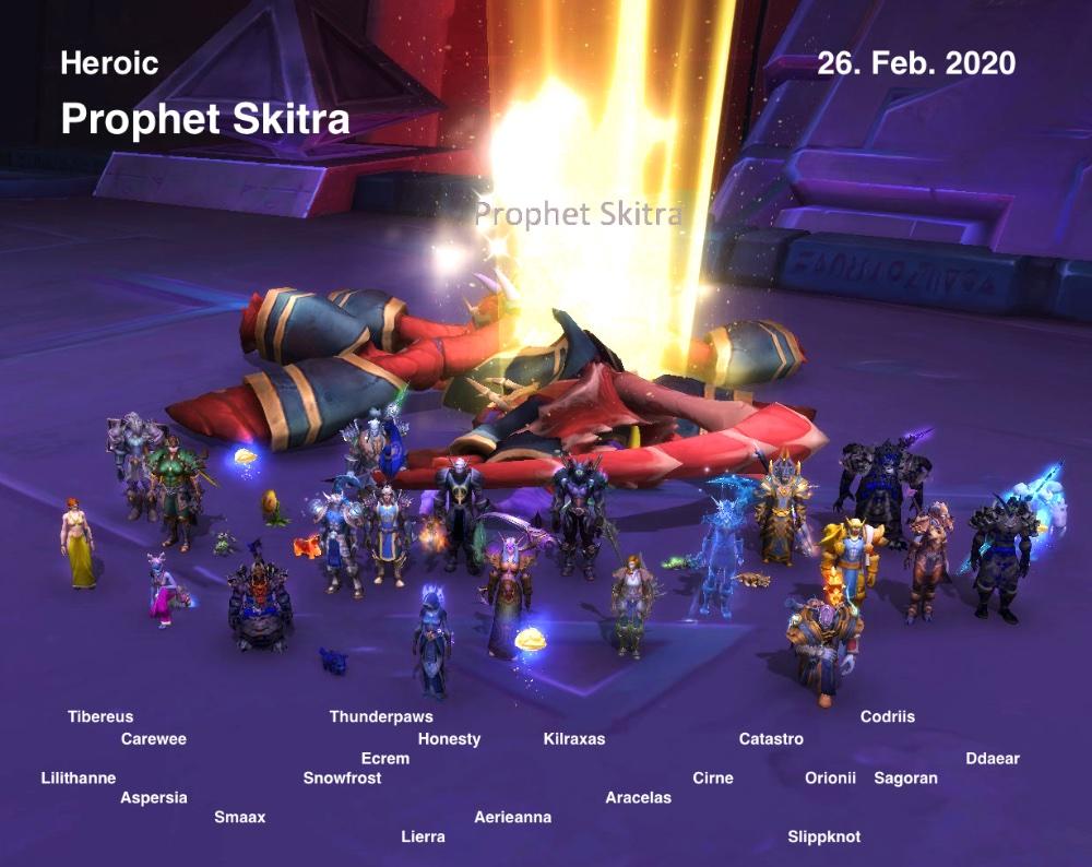 Heroic Skitra kill shot