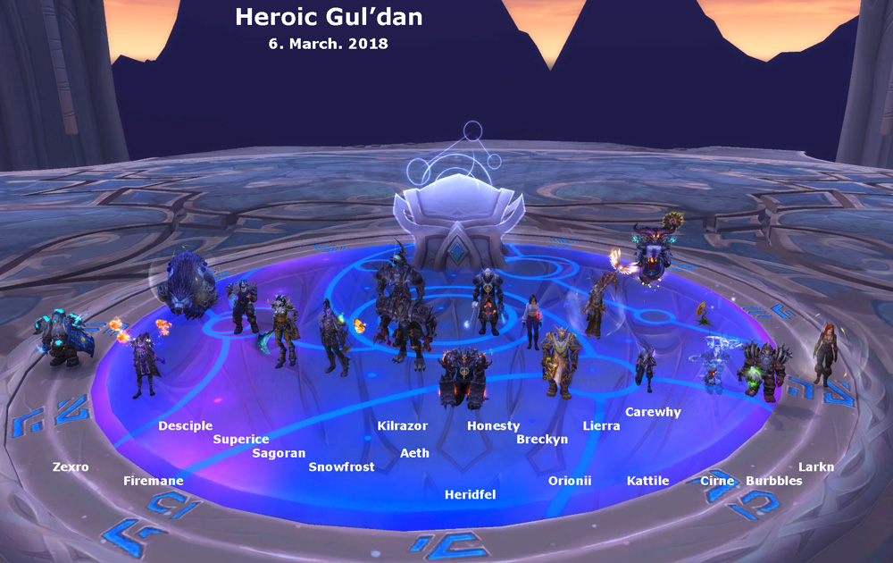 Heroic Gul'dan kill shot