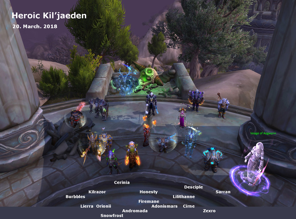 Heroic Kil'jaeden kill shot