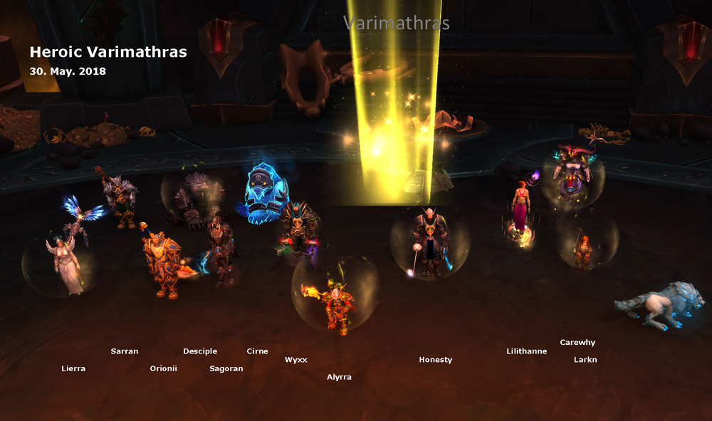 Heroic Varimathras kill shot