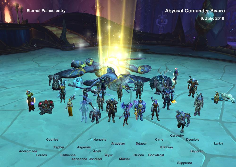 Abyssal Commander Sivara kill shot