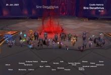 Sire Denathrius kill shot