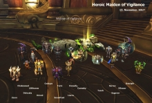 Heroic Maiden kill photo