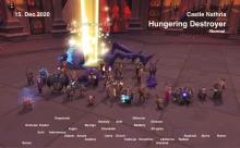 Hungering Destroyer kill shot